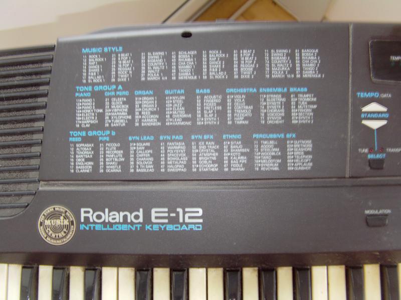 Roland E – 12 intelligent
