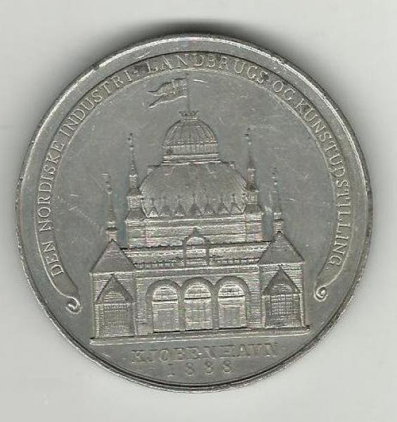 Gamle danske tin medaljer