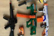 3 NERFs gevær mm