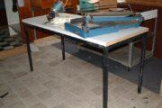 Bord stålunderstel