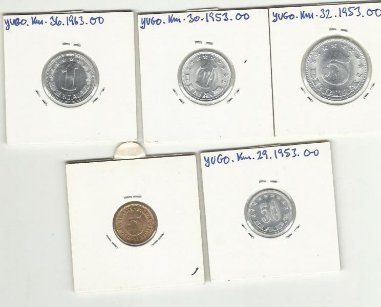Udenlandske mønter