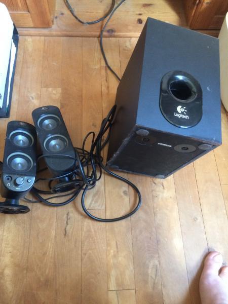 Højtalere - Møllevænget 23,1,tv - Logitech højtalere - Møllevænget 23,1,tv