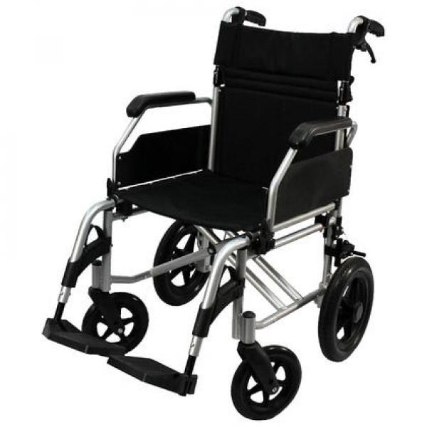 kørestol - Fyrrevej 11 Glyngøre - Killberry kørestol aldrig brugt, foldbart aluminium stel vægt 12kg. NY PRIS 1648kr. - Fyrrevej 11 Glyngøre