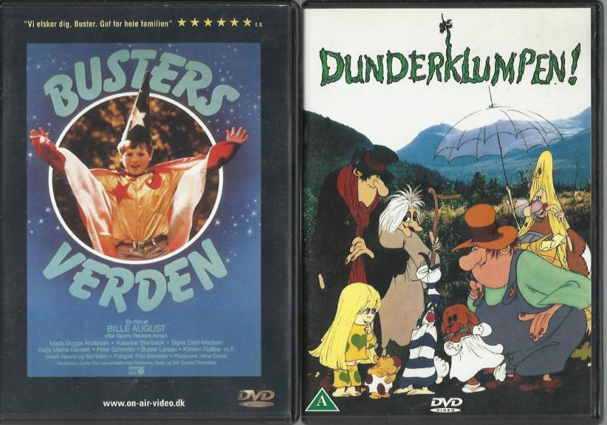 Børne DVDere 04 - Møllegade 22,1 Sal - blandet mindste salg 6 stk for 100,-kr - Møllegade 22,1 Sal