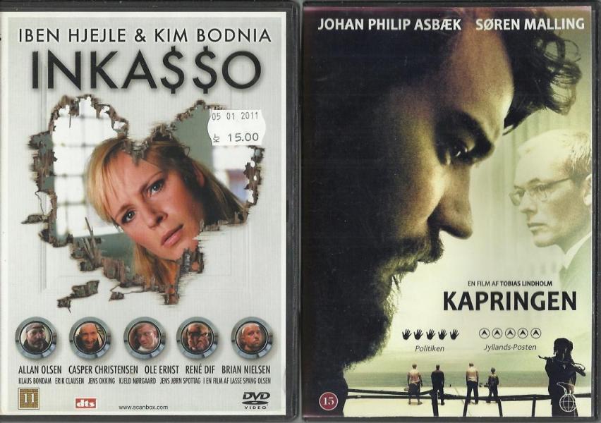 Danske film på DVD 01