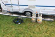 Tilbehør til campingvogn