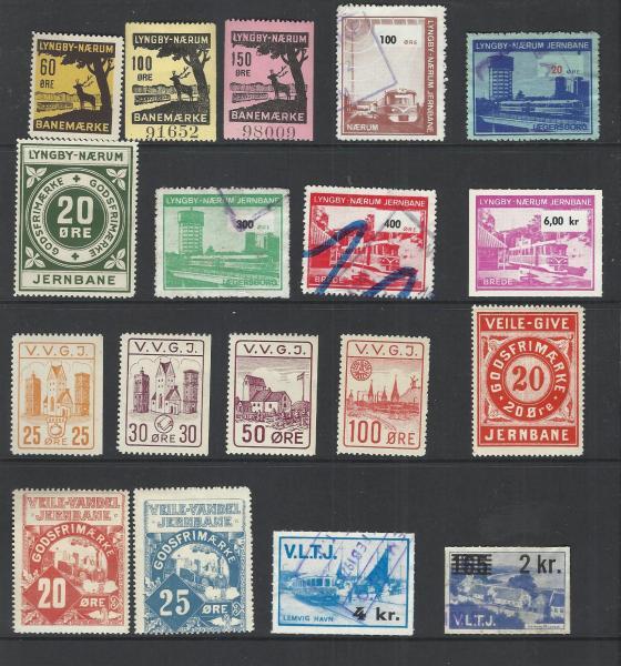 Gamle jernbanemærker