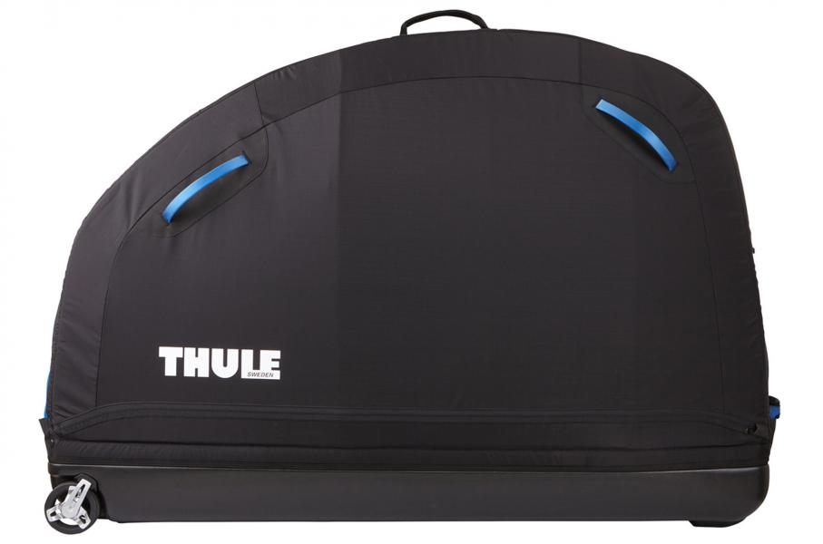 Thule RoundTrip Pro XT kuffert - Danmark - Cykelkuffert i softshell med integreret cykelstander, der gør det enkelt at rejse med cyklen. Kufferten er nem at folde sammen, når den ikke er i brug, så den kan gemmes uden at fylde meget. De hårde sider tages ud og lægges ned i bunden af - Danmark
