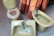 Komplet sanitetssæt,