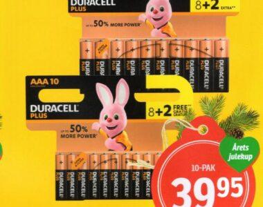 Duracell Batterier 10 stk.