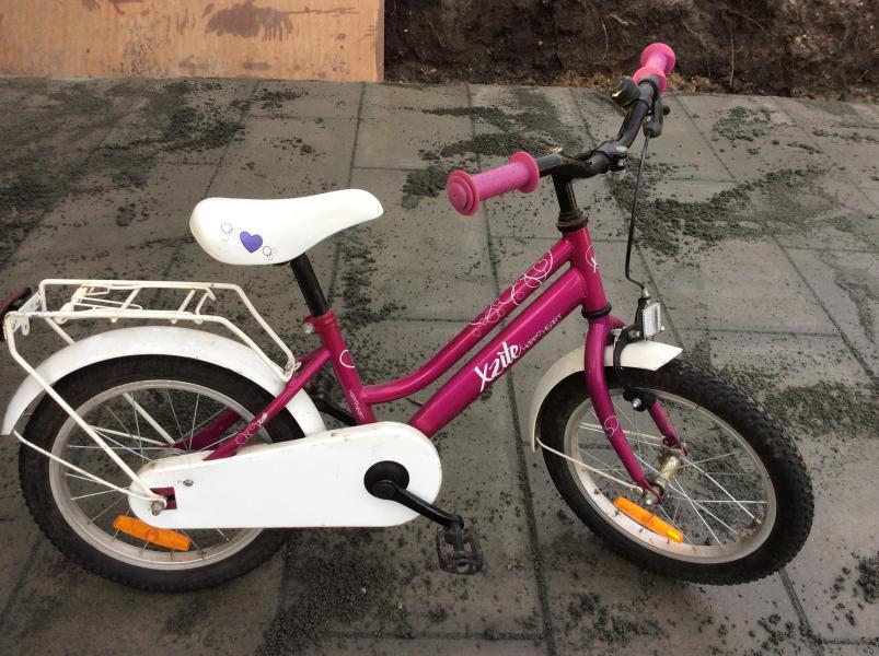 "Pigecykel - Danmark - 16"" pigecykel sælges. Er ikke med gear. - Danmark"
