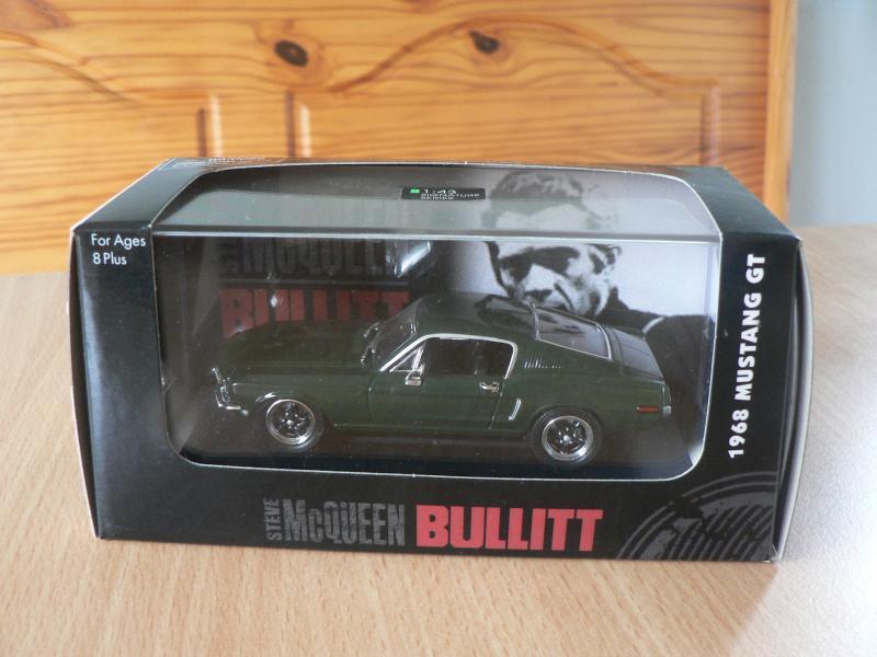 Modelbil - Pile Alle 1 Ramsing - Ford Mustang GT . Fra filmen Bullitt ( NY ) 1/43 - Pile Alle 1 Ramsing