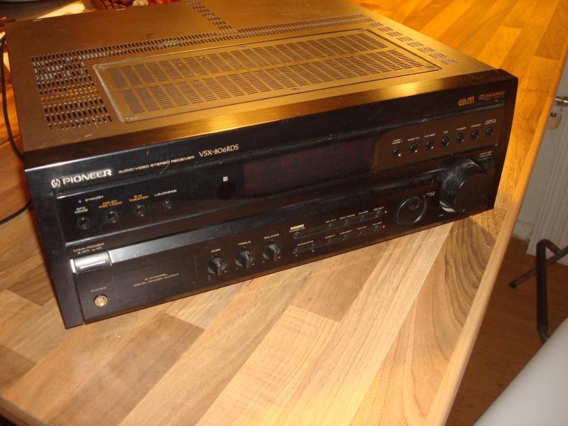 Pioneer reciever - Furvej 17, Selde - Pionees WSX-806 rds. Sorround reciever. Dog uden remote. - Furvej 17, Selde