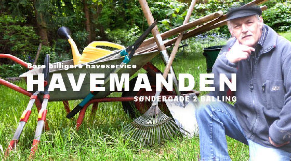 HAVE SERVICE - Søndergade 2 - Tænk allerede på foråret .. - Søndergade 2