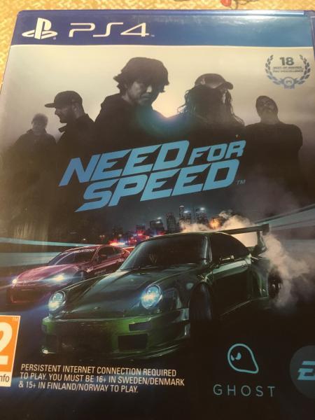 Need for speed ps 4 - Mosrosevej 16 - Billigt spil kun 100 kr - Mosrosevej 16