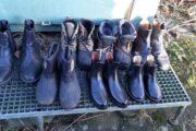 Kørte ride støvler