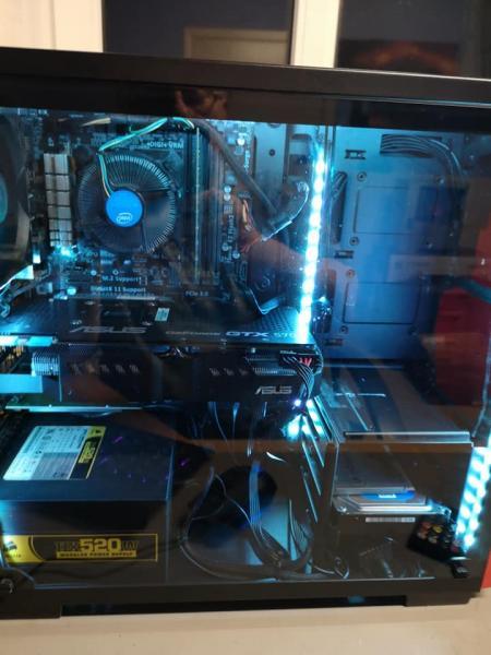 Stationær i5 - Buksager 1 - ASUS Z97-k board i Corsair kabinet Intel i5 4440 CPU, Corsair 520w psu 8 GB DDR3 ram 1×8. GeForce GTX570 grafik Kingston 128 GB SSD + 1000 GB hdd - Buksager 1