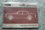 Ford Granada Instruktionsbog