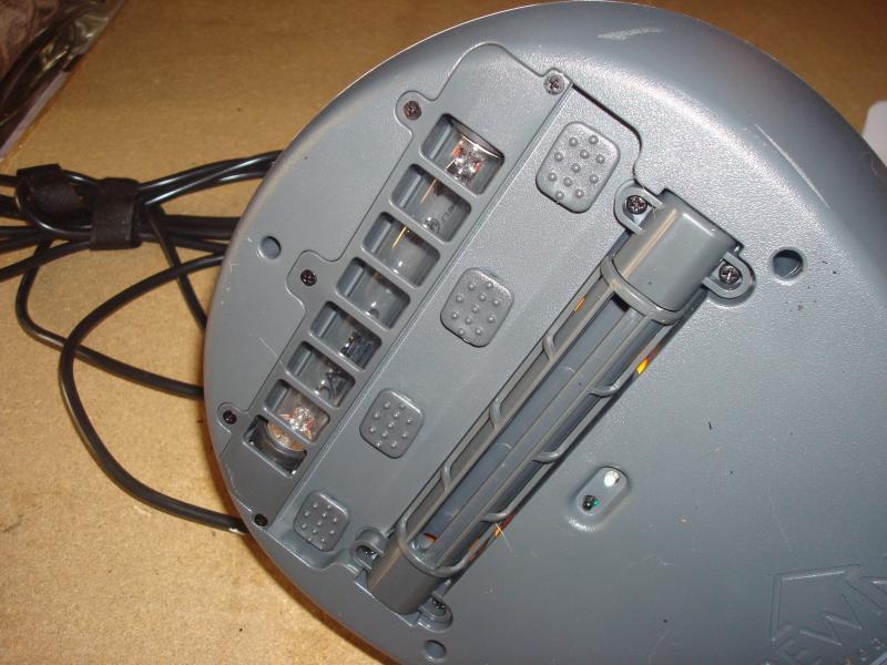 Støvsuger med uv-lys