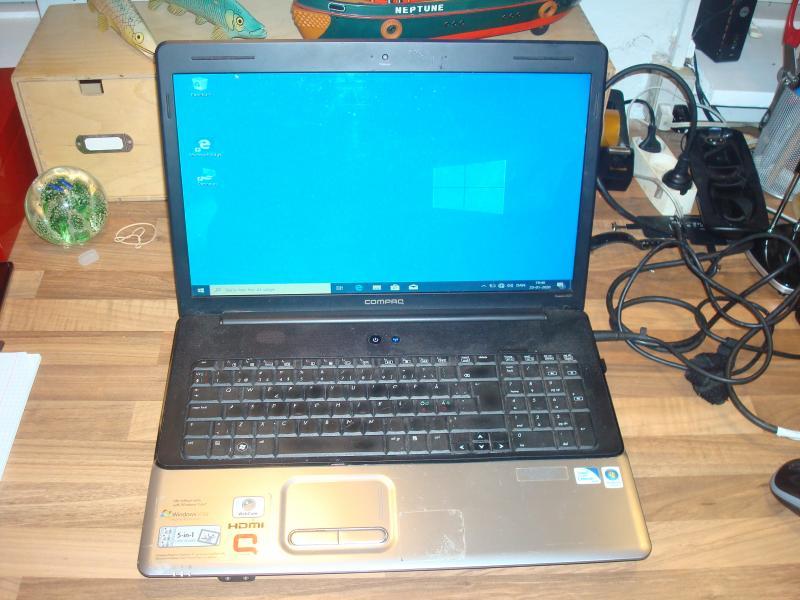 HP/compaq CQ71 - Furvej 17, Selde - Cpu 2.2ghz. ram 4gb hd320gb. Tegnene på tastatur er lidt slidte. win 10 installeret me ikkeaktiveret. - Furvej 17, Selde