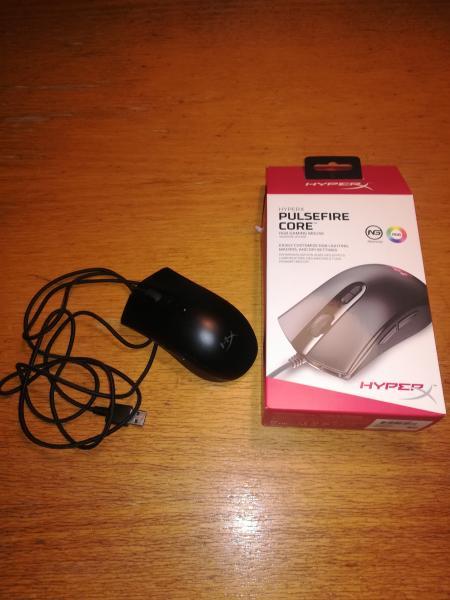 HyperX pulsefire gaming mus - Dybdal 8 - HyperX pulsefire core rbg gaming mouse. Alt virker, kun brugt i 4 mdr, kvittering haves. - Dybdal 8