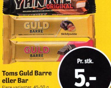 Toms Guld Barre eller Bar