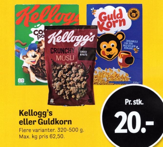 Kellogg's eller Guldkorn