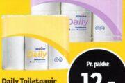 Daily Toiletpapir eller Køkkenrulle