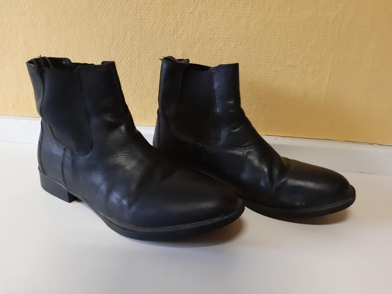 Kørte støvler str 42 - Lyngtoften - Korte læder støvler - Lyngtoften