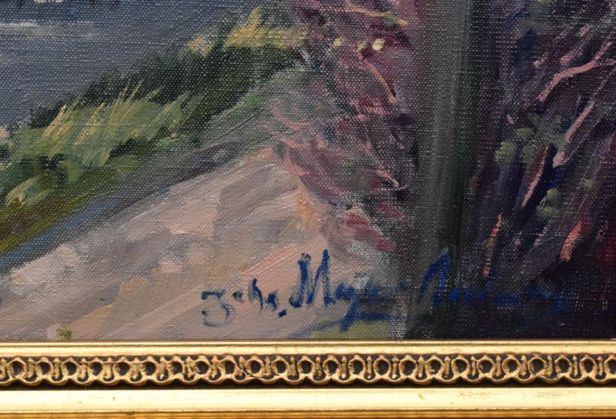 Maleri af Johs. Meyer Andersen