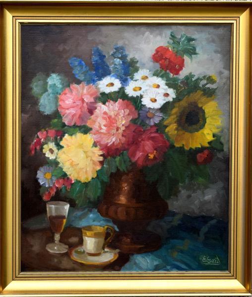 Maleri af Edith Gert.
