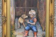 Maleri af Mette Bøstrup