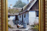 Maleri af Roald Hansen (f.1938