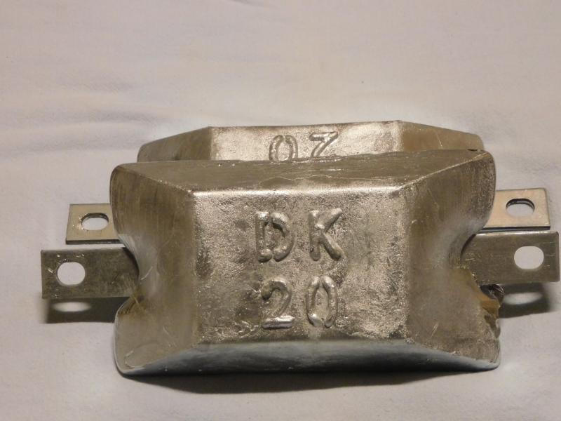Zinkanoder fra 40 Kr.