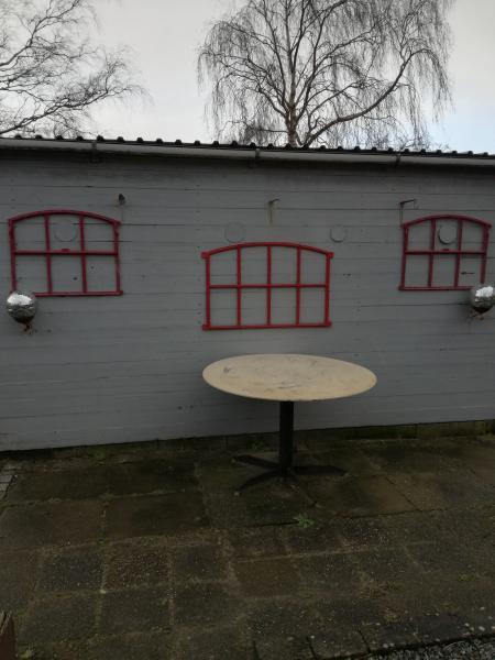 Støbejerns vinduer