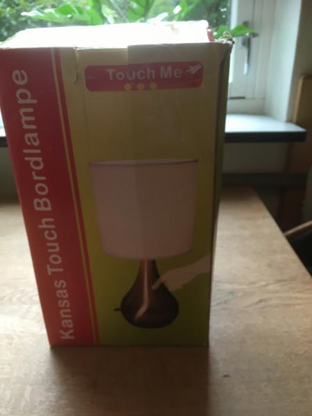 Bordlampe Kansa Touch Me