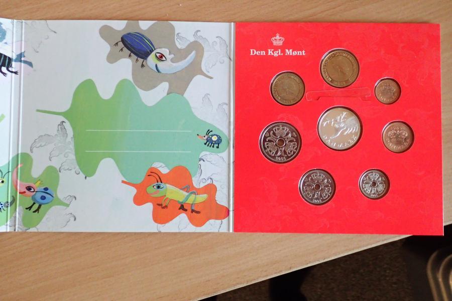 Børne møntsæt 2006