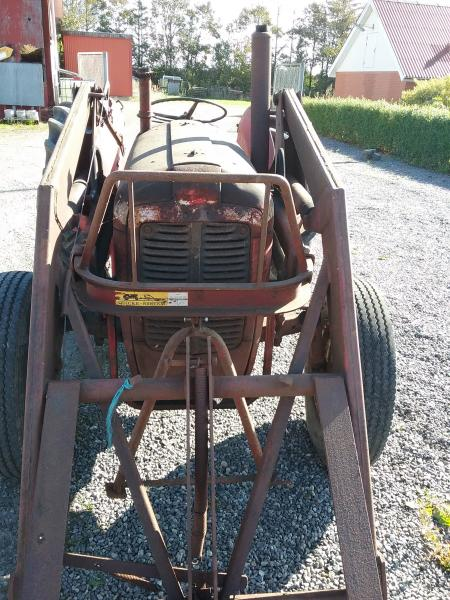 MF 35 diesel 3 cylinder sælges