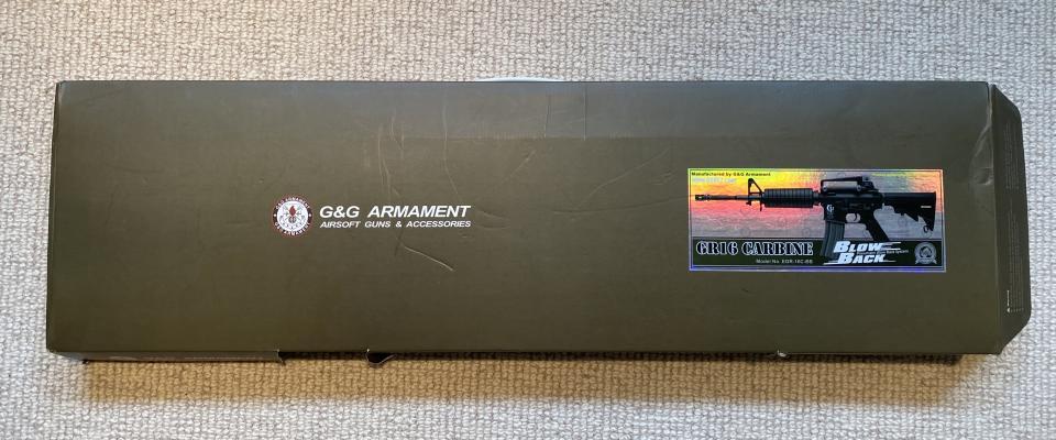 G&G GR16 metal + udstyr
