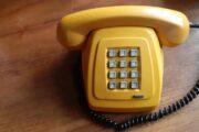 cool retro telefon