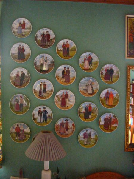 Folkedanser platter