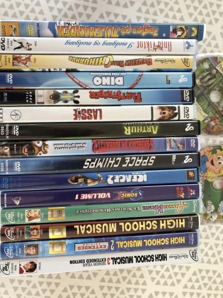 DVD Børne- og Ungdomsfilm