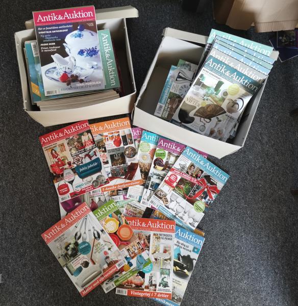 Antik og Auktion magasiner