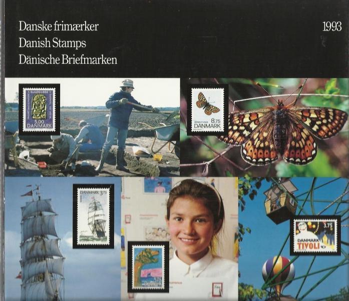 Danske postfriske frimærker