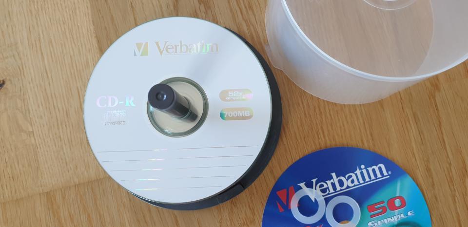 CD rom 700 MB – Nye