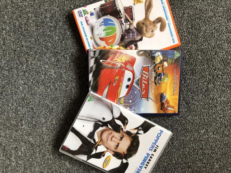 3 gode børne dvd