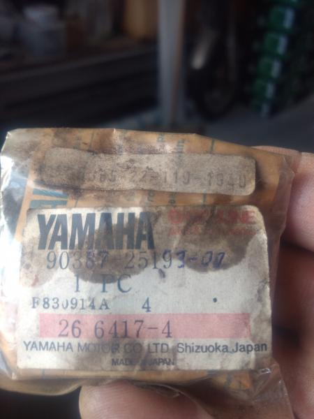 Yamaha Gearkasse bøsning