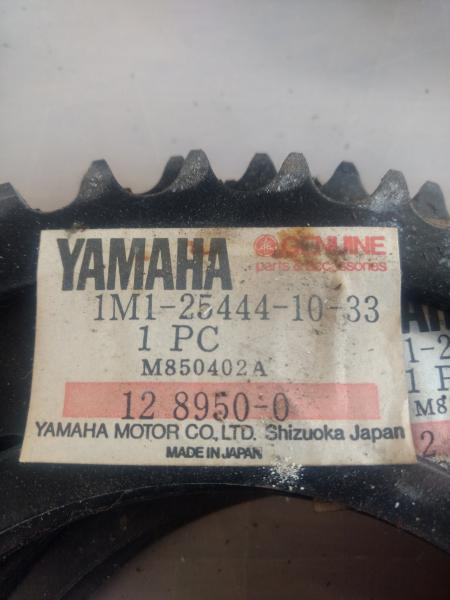 Yamaha DT Tandhjul