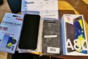 Samsung Galaxy A80 + tilbehør