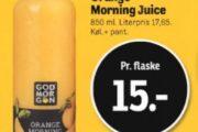 Godmorgen Orange Morning Juice